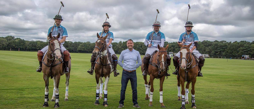 PaulNugent with Isle of Man Women's Polo Team