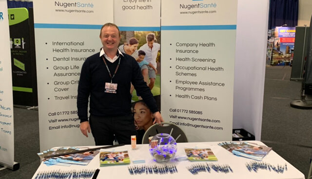 Nugent Sante Exhibit At The Greater Manchester Business Expo